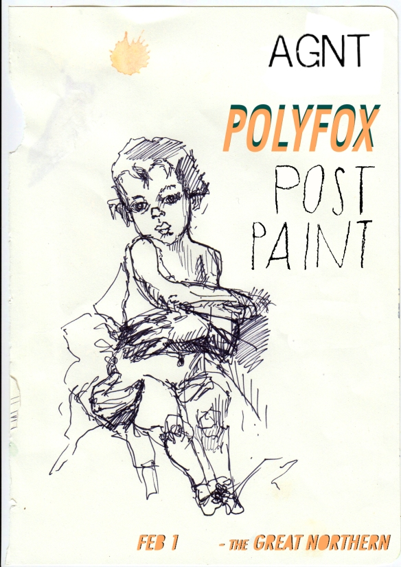 I Am The Agent // Post-Paint // Polyfox